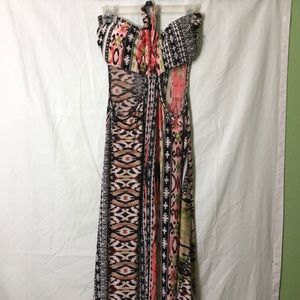 Dots sleeveless dress